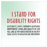 Disability awareness Framed Prints